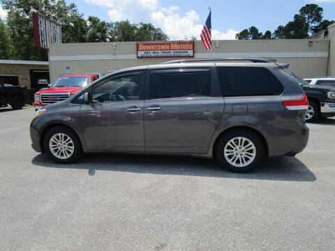 2012 Toyota Sienna for sale at Downtown Motors in Milton FL