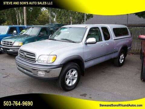 2000 Toyota Tundra for sale at Steve & Sons Auto Sales in Happy Valley OR