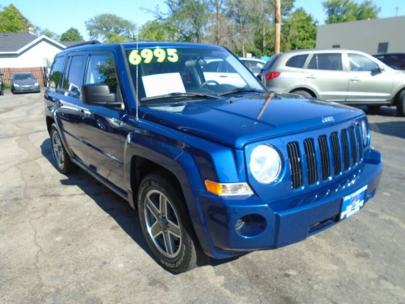 2009 Jeep Patriot for sale at DISCOVER AUTO SALES in Racine WI