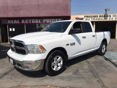 2014 RAM Ram Pickup 1500 for sale at Sanmiguel Motors in South Gate CA