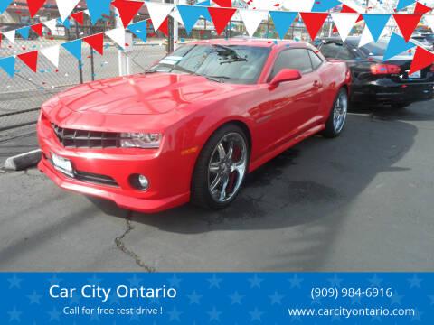 2011 Chevrolet Camaro for sale at Car City Ontario in Ontario CA