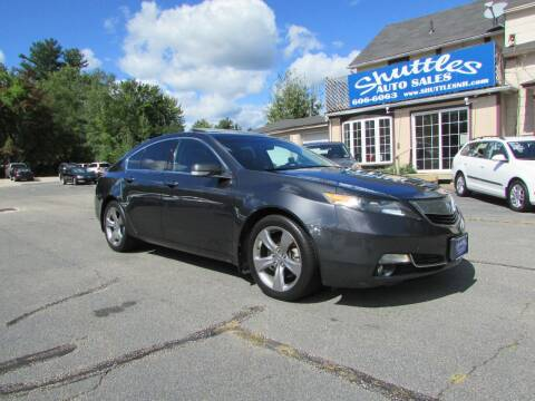 2012 Acura TL for sale at Shuttles Auto Sales LLC in Hooksett NH