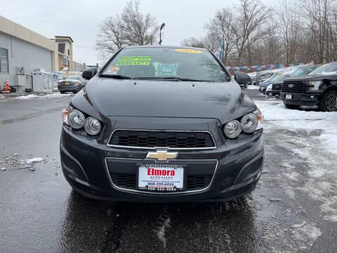 2015 Chevrolet Sonic for sale at Elmora Auto Sales in Elizabeth NJ