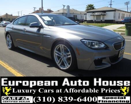 2014 BMW 6 Series for sale at European Auto House in Los Angeles CA