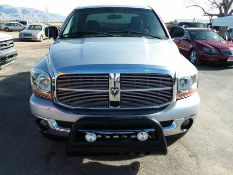 2006 Dodge Ram Pickup 1500 for sale at Bickham Used Cars in Alamogordo NM