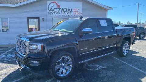 2017 GMC Sierra 1500 for sale at Action Motor Sales in Gaylord MI