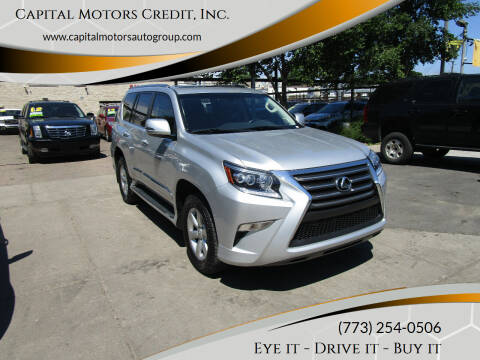 2017 Lexus GX 460 for sale at Capital Motors Credit, Inc. in Chicago IL