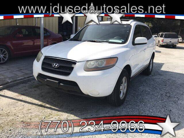 2007 Hyundai Santa Fe for sale at J D USED AUTO SALES INC in Doraville GA