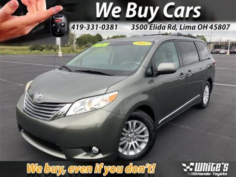 2012 Toyota Sienna for sale at White's Honda Toyota of Lima in Lima OH