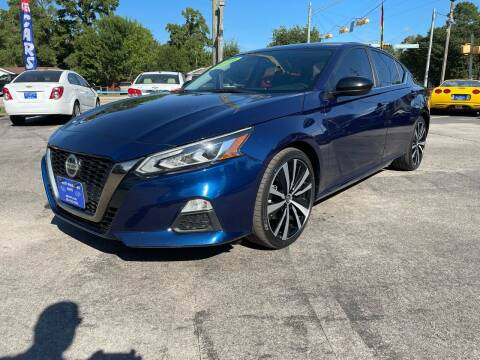 2019 Nissan Altima for sale at QUALITY PREOWNED AUTO in Houston TX