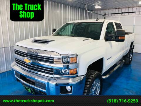 2017 Chevrolet Silverado 2500HD for sale at The Truck Shop in Okemah OK