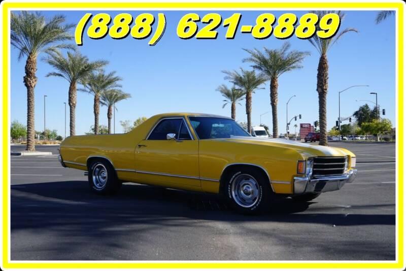 1971 Chevrolet El Camino for sale at AZautorv.com in Mesa AZ