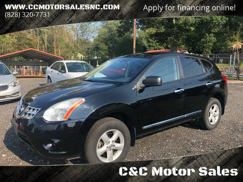 2012 Nissan Rogue for sale at C&C Motor Sales LLC in Hudson NC