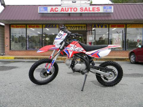 2020 Apollo 4563 X19 125cc for sale at A C Auto Sales in Elkton MD