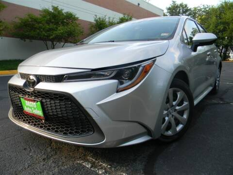2020 Toyota Corolla for sale at Dasto Auto Sales in Manassas VA