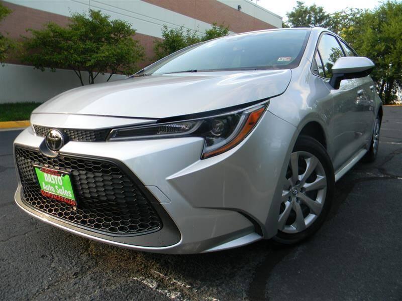 2020 Toyota Corolla for sale at Dasto Auto Sales in Manassas VA