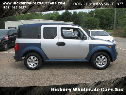 2006 Honda Element for sale at Hickory Wholesale Cars Inc in Newton NC