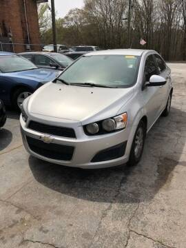 2014 Chevrolet Sonic for sale at LAKE CITY AUTO SALES - Jonesboro in Morrow GA