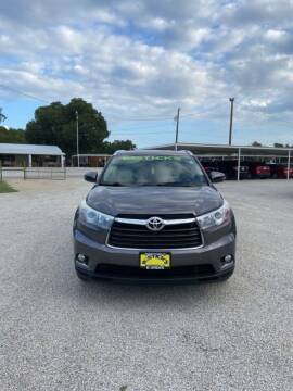2015 Toyota Highlander for sale at Bostick's Auto & Truck Sales LLC in Brownwood TX