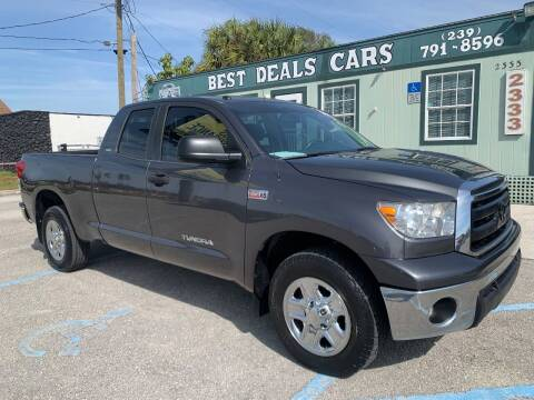 2012 Toyota Tundra for sale at Best Deals Cars Inc in Fort Myers FL