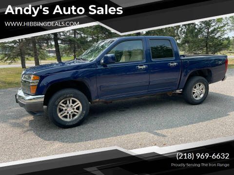 2012 GMC Canyon for sale at Andy's Auto Sales in Hibbing MN
