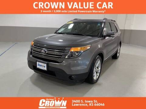2013 Ford Explorer for sale at Crown Automotive of Lawrence Kansas in Lawrence KS