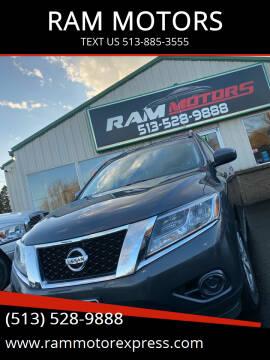 2014 Nissan Pathfinder for sale at RAM MOTORS in Cincinnati OH