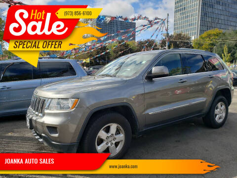 2012 Jeep Grand Cherokee for sale at JOANKA AUTO SALES in Newark NJ