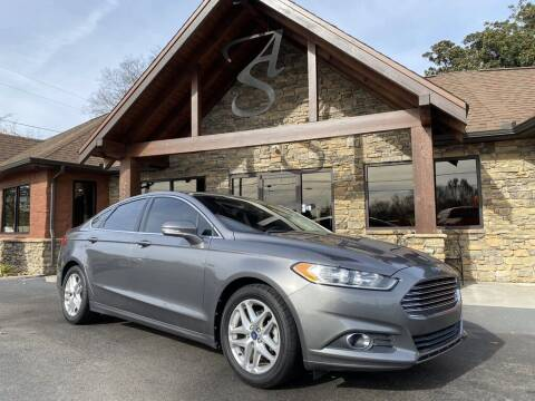 2013 Ford Fusion for sale at Auto Solutions in Maryville TN