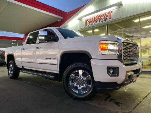 2017 GMC Sierra 3500HD for sale at Furrst Class Cars LLC in Charlotte NC