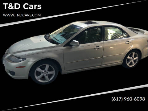 2006 Mazda MAZDA6 for sale at T&D Cars in Holbrook MA