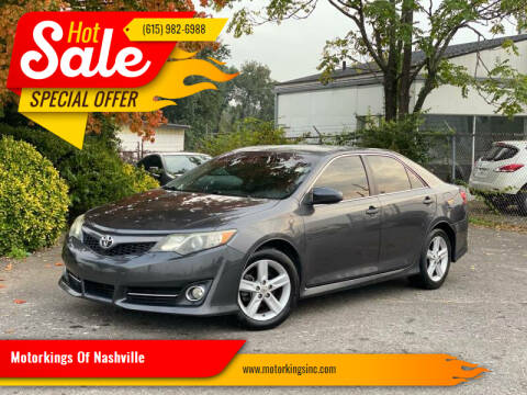 2013 Toyota Camry for sale at Motorkings Of Nashville in Nashville TN