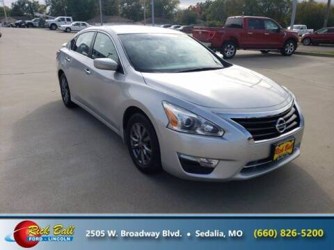 2015 Nissan Altima for sale at RICK BALL FORD in Sedalia MO
