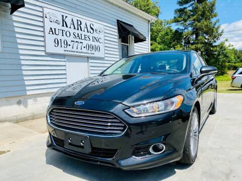 2014 Ford Fusion Hybrid for sale at Karas Auto Sales Inc. in Sanford NC