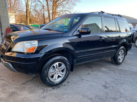 2004 Honda Pilot for sale at White River Auto Sales in New Rochelle NY