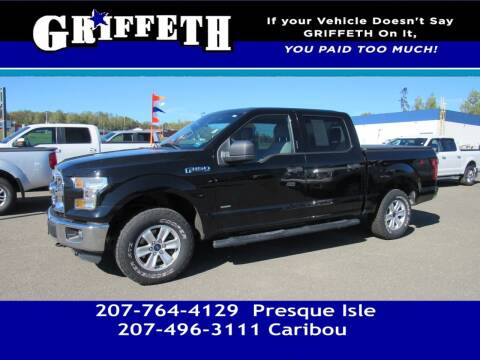 2016 Ford F-150 for sale at Griffeth Mitsubishi - Pre-owned in Caribou ME