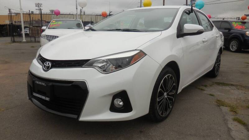 2016 Toyota Corolla for sale at Luxor Motors Inc in Pacoima CA