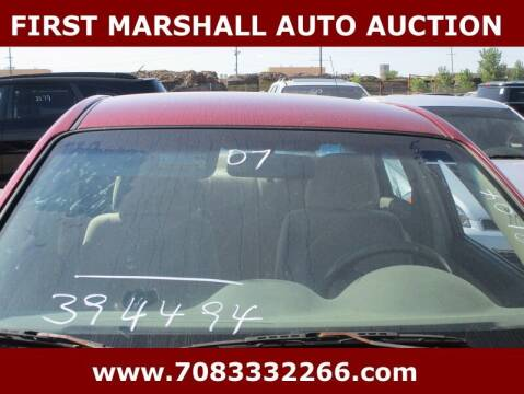 2007 Kia Spectra for sale at First Marshall Auto Auction in Harvey IL