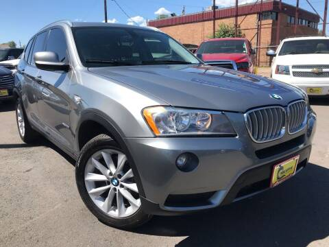 2013 BMW X3 for sale at New Wave Auto Brokers & Sales in Denver CO