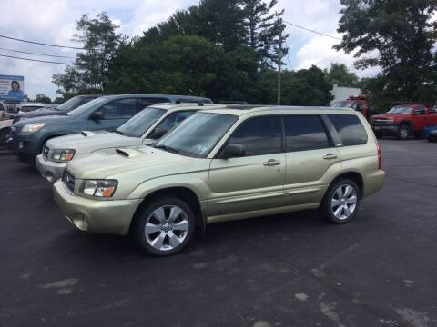 2004 Subaru Forester for sale at Hometown Auto Repair and Sales in Finksburg MD