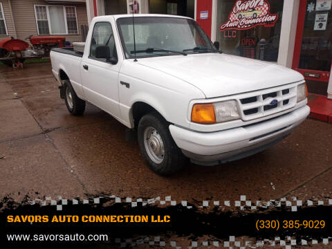 1994 Ford Ranger for sale at SAVORS AUTO CONNECTION LLC in East Liverpool OH