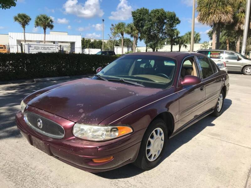2004 Buick LeSabre for sale at LIBERTY MOTORCARS INC in Royal Palm Beach FL
