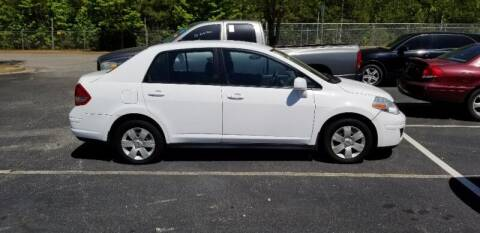2010 Nissan Versa for sale at DREWS AUTO SALES INTERNATIONAL BROKERAGE in Atlanta GA