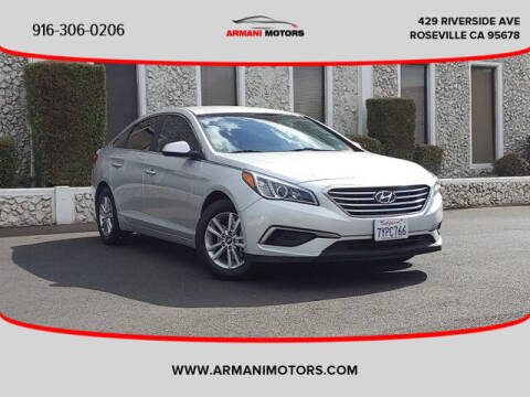 2016 Hyundai Sonata for sale at Armani Motors in Roseville CA