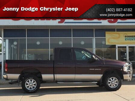 2004 Dodge Ram Pickup 2500 for sale at Jonny Dodge Chrysler Jeep in Neligh NE