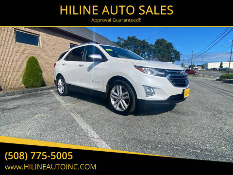 2018 Chevrolet Equinox for sale at HILINE AUTO SALES in Hyannis MA