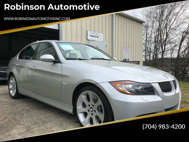 2006 BMW 3 Series for sale at Robinson Automotive in Albemarle NC