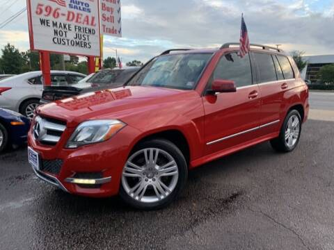 2014 Mercedes-Benz GLK for sale at 1st Choice Auto Sales in Newport News VA