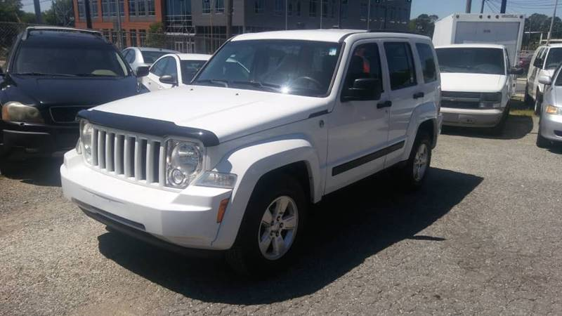 2012 Jeep Liberty for sale at Specialty Bank Liquidators in Greensboro NC