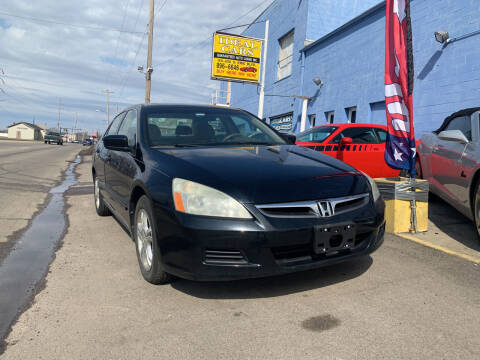 2007 Honda Accord for sale at Ideal Cars in Hamilton OH